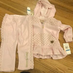 Juicy Couture Pink Two-Piece Outfit